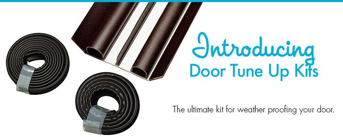 Give your door some extra TLC this season with our Door Tuneup Kit >> DIY