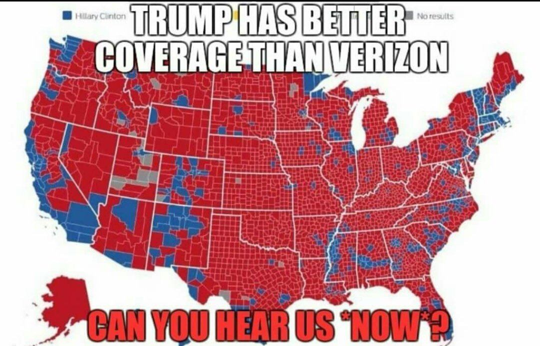 Jon Jonathan Twitter Can You Hear Us Now Map Trump