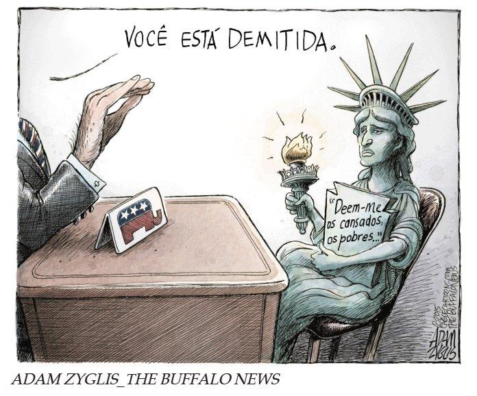 #piauídopassado [humor] Uma série de cartuns com Donald Trump https://t.co/TvANi3lA7H