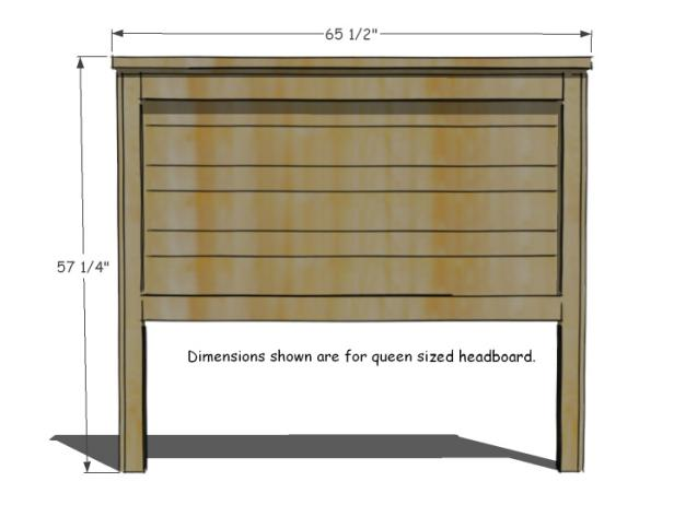 Plan out your DIY headboard by taking measurements.