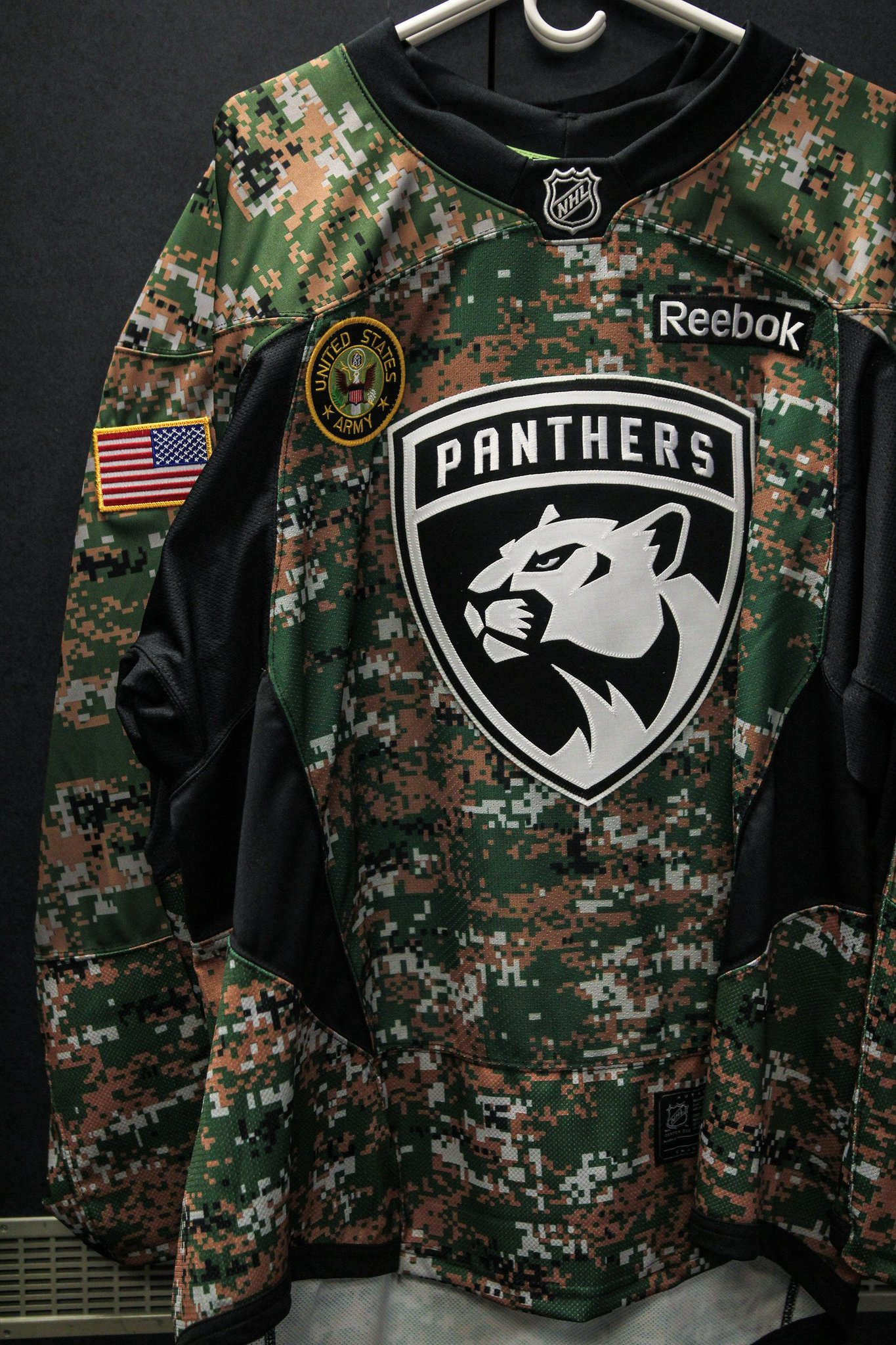 new arrival c2c9e fbe54 florida panthers camo jersey