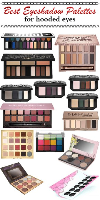 Best Eyeshadow Palettes for Hooded Eyes KATVONDbeauty crueltyfree beauty