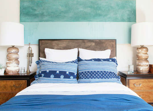Need a headboard? Use these DIY ideas to design your own. bedroom