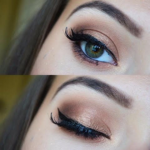 WarmBrown makeup! Explore her eyelook right now!