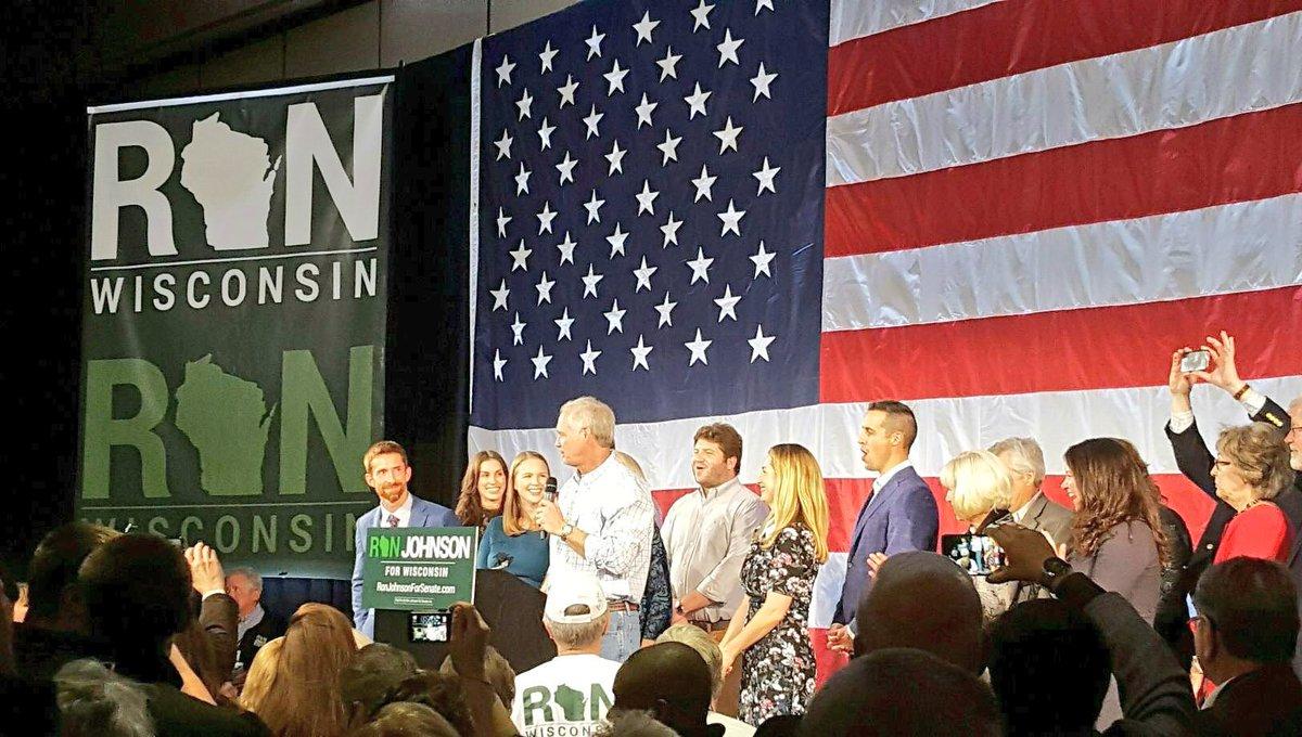 Thank you, Wisconsin! #TeamRonJon #WISen