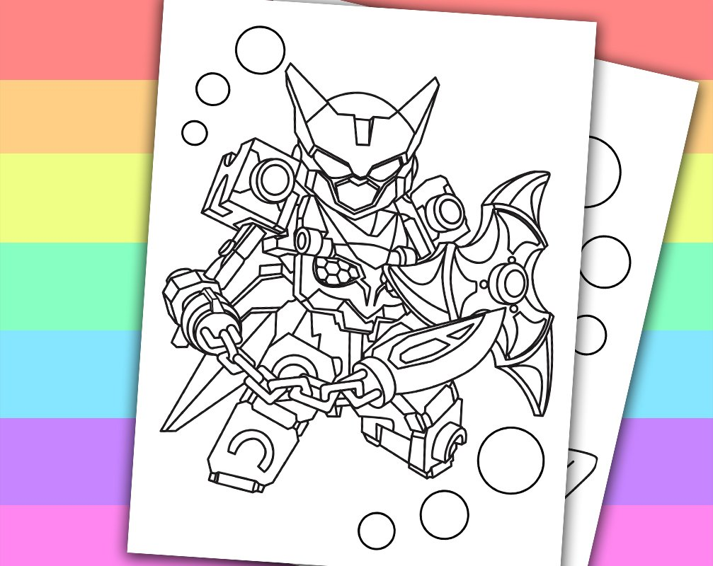 Tenkai Knight Coloring Pages