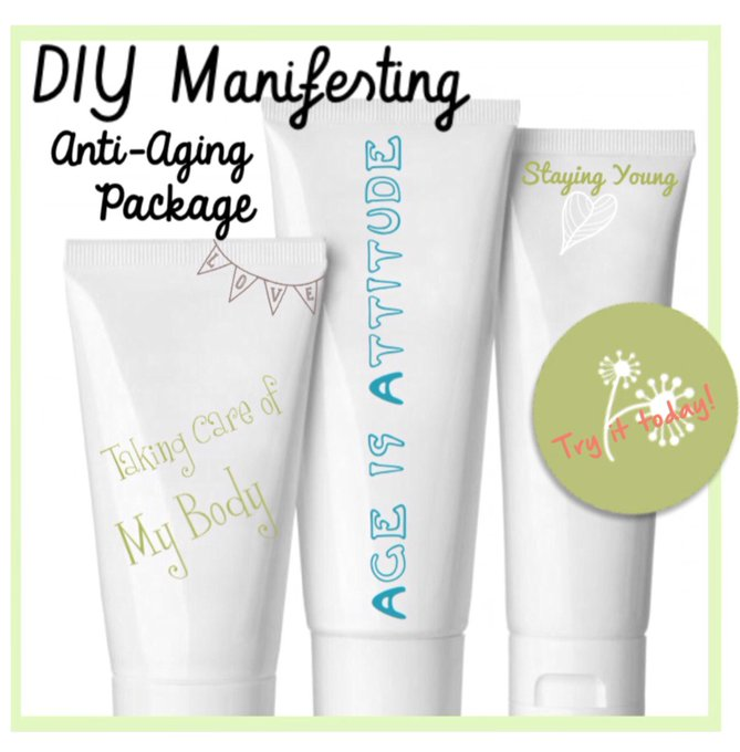 DIY Healing Series Love your Body Anti-Aging youth Health Enjoy your Life!