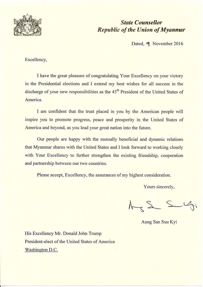 May wong on twitter myanmar state counsellor aungsansuukyi may wong on twitter myanmar state counsellor aungsansuukyi issues congratulatory letter to us president elect trump look forward to working altavistaventures Choice Image