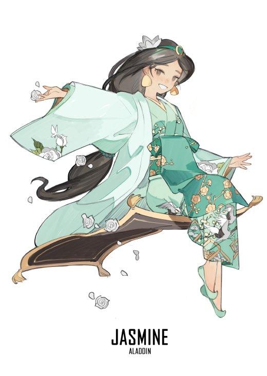 jasmine en kimono