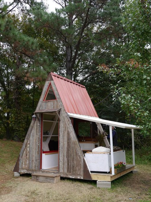 1200$ A-framed Cabin : DIY