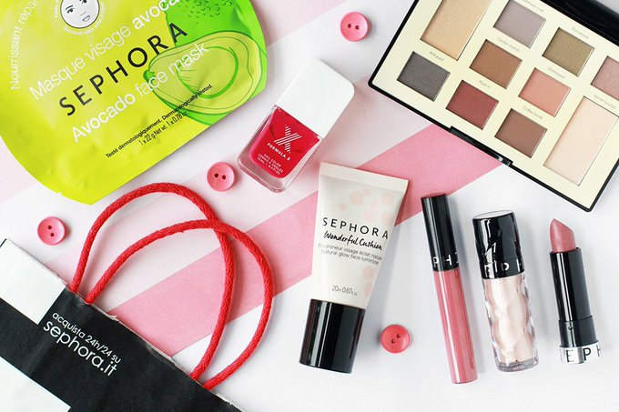 NEW POST: Sephora Haul bbloggers FemaleBloggerRT bdib