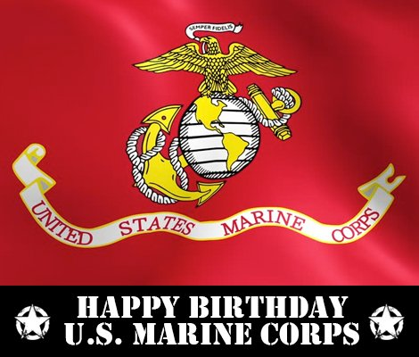 Happy 241st Birthday to the @USMC from American Rifleman! #HappyBirthdayMarines #SemperFi #USMC241 https://t.co/2cealCgNnR