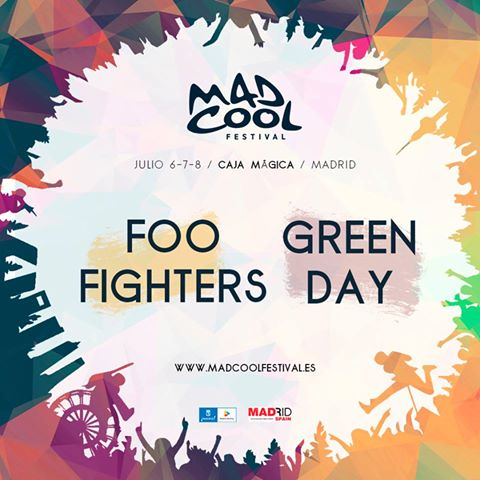El @madcoolfestival anuncia sus dos primeros nombres: Foo Fighters y Green Day. https://t.co/SDtuNq1QoG