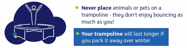 "Safety advice from the John Lewis trampolines webpage: ""You should never put live animals and pets on a trampoline."" https://t.co/AOkUcIUBMx"