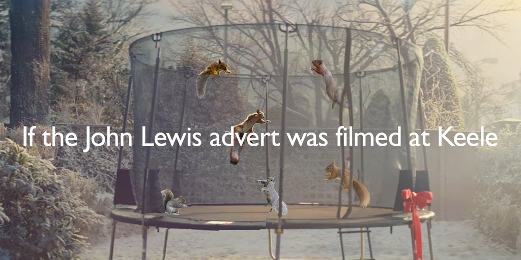 If the #JohnLewis advert was filmed at #Keele https://t.co/Ektjh4EVC7