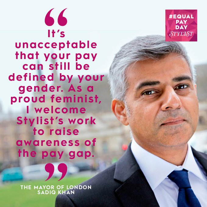 Today, is #EqualPayDay, and we're leaving work 18% early to highlight the gender pay gap https://t.co/hFytEBt54O