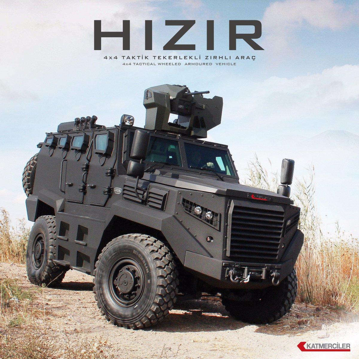 العربه HIZIR المدرعه من شركة Katmerciler التركيه  Cw5RrFhW8AAwCXO