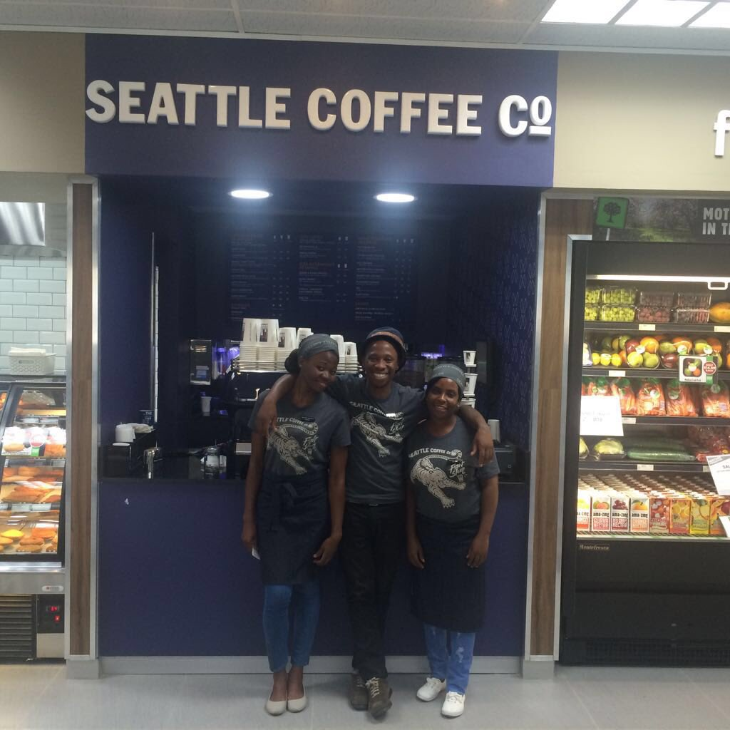 OUR STORY How it all began. Seattle Coffee Company was created by a husband and wife team – Ally and Scott Svenson – whose inspiration was born out of their experience of specialty coffee brands in their hometown of Seattle.