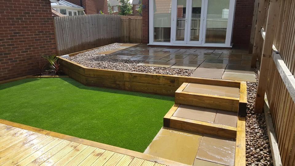 """Lawn Land Limited on Twitter: """"Garden Design in Wrexham ..."""
