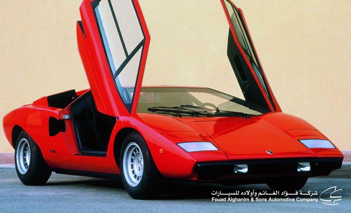 Lamborghini Kuwait On Twitter The Lamborghini Countach Was First
