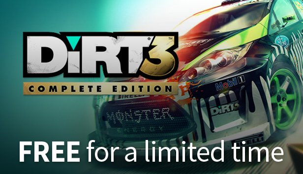 Get DiRT 3 Complete Edition Free in the #HumbleStore Birthday Sale! https://t.co/lnEP9XsPsj https://t.co/7b7EhxhR3F