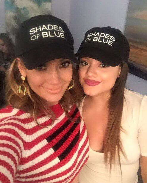 TBT Tippin  our caps to  JLo and  Sarahmjeffery3.  ShadesofBlue  http   bit.ly 2ejK4IR pic.twitter.com Bq61yVsWVT 011ff26c45c