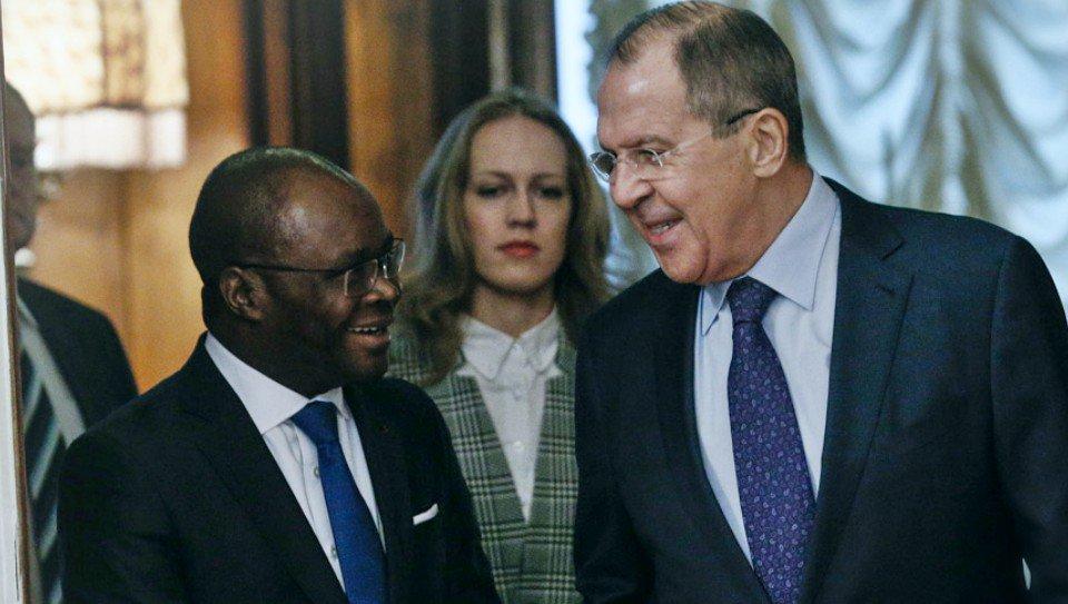 Thumbnail for Lavrov - Aurélien Agbénonci meeting in Moscow | Встреча С.Лаврова и главы МИД Бенина