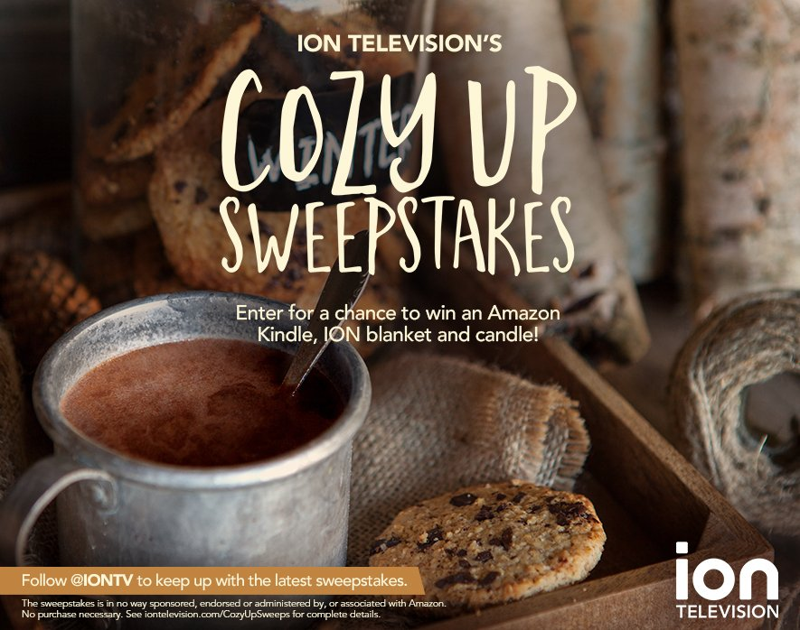 Enter @iontv's #CozyUpSweeps for your chance to win an awesome prize pack! #Entry https://t.co/os3cbi4IeE https://t.co/t4Z46AsI42