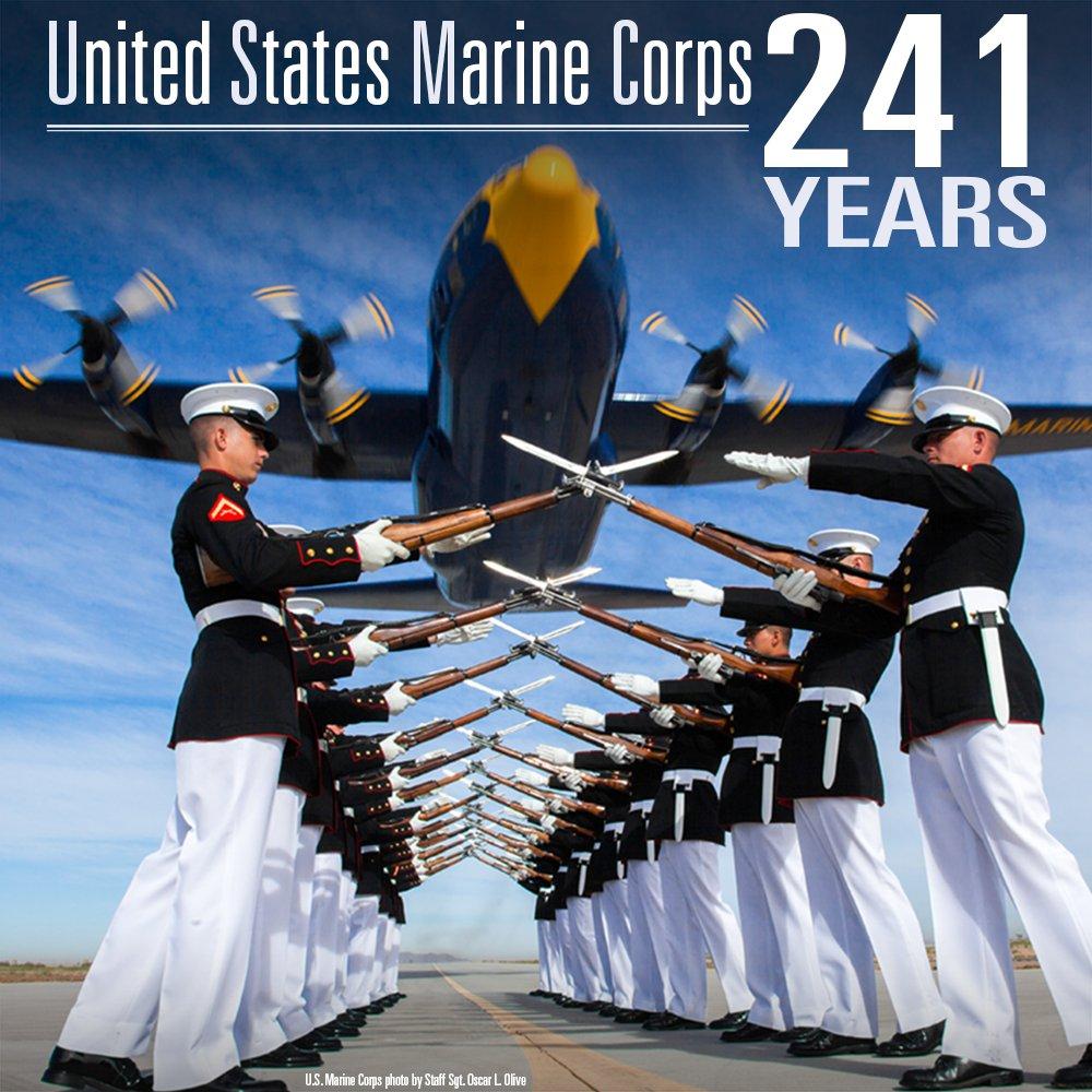 Happy birthday to the U.S. Marine Corps! @USMC