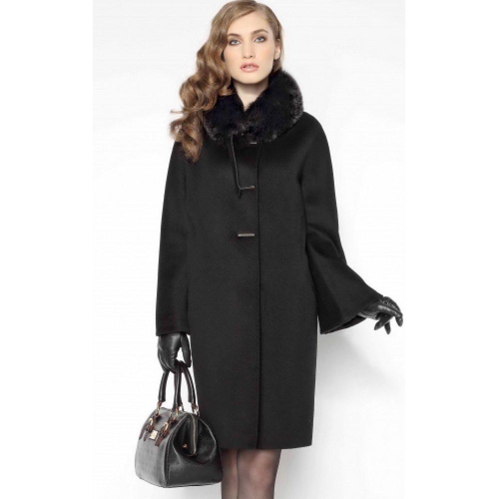 женское зимнее пальто кашемировое с капюшоном в москве женское