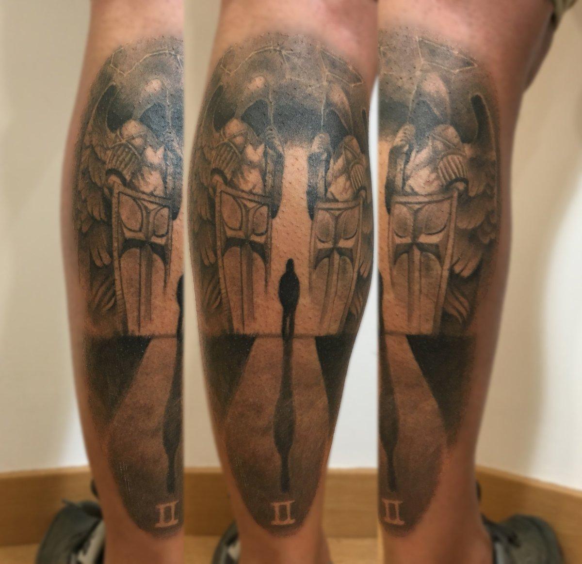 Breaking Art Tattoo on Twitter tatuaje curado ngeles custodios