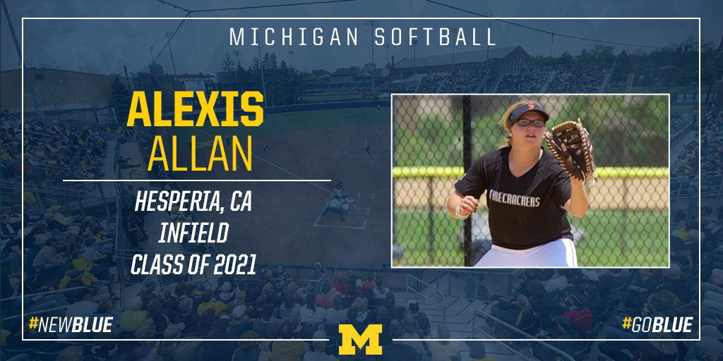 Mi 9 Twitter: Michigan Softball (@umichsoftball)