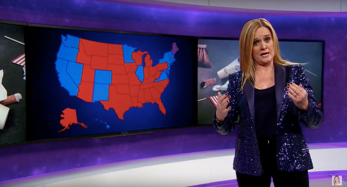 Samantha Bee calls out white people, and specifically white women, for ruining America: https://t.co/J2aSCmgntf