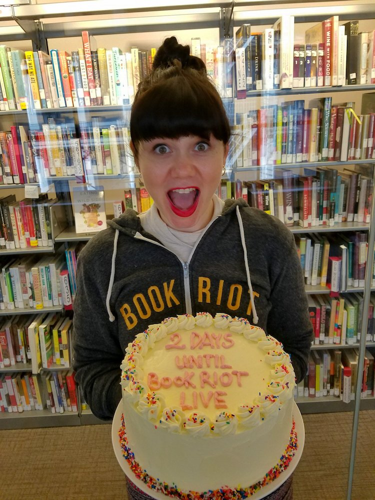 Only 2 days till #brlive with @saraannequiroz of @IntlCulLibrary! Cake by  @pastry_chef_jurgen_david (not included) https://t.co/2yQ8qLrxyD https://t.co/spEELLYgKZ