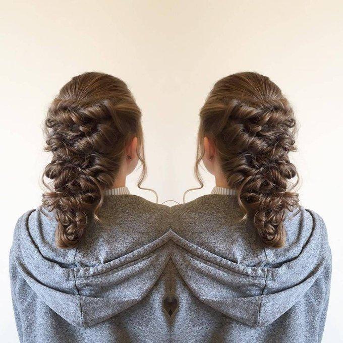 Prom Princess Hair hairstyle hairhairvideomakeupharrystylesbeautifulprincessBy