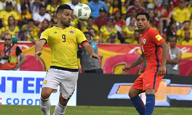 Video: Colombia vs Chile