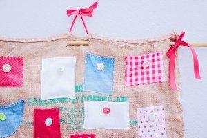DIY Burlap Bag Advent Calendar easyaspie pippapiemaker cakesandpies handmade diy