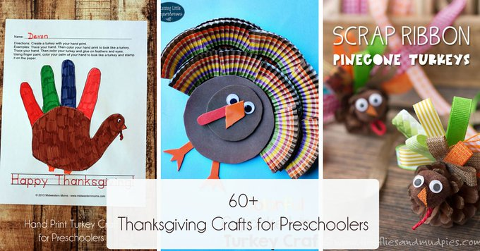 60+ fun Thanksgiving craft for preschoolers kids Thanksgiving crafts