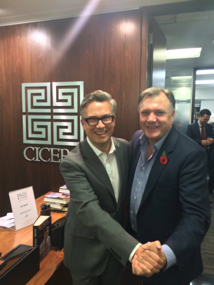Nice moves @edballs and @iain_w_anderson here @CiceroGlobal talking  #Strictly