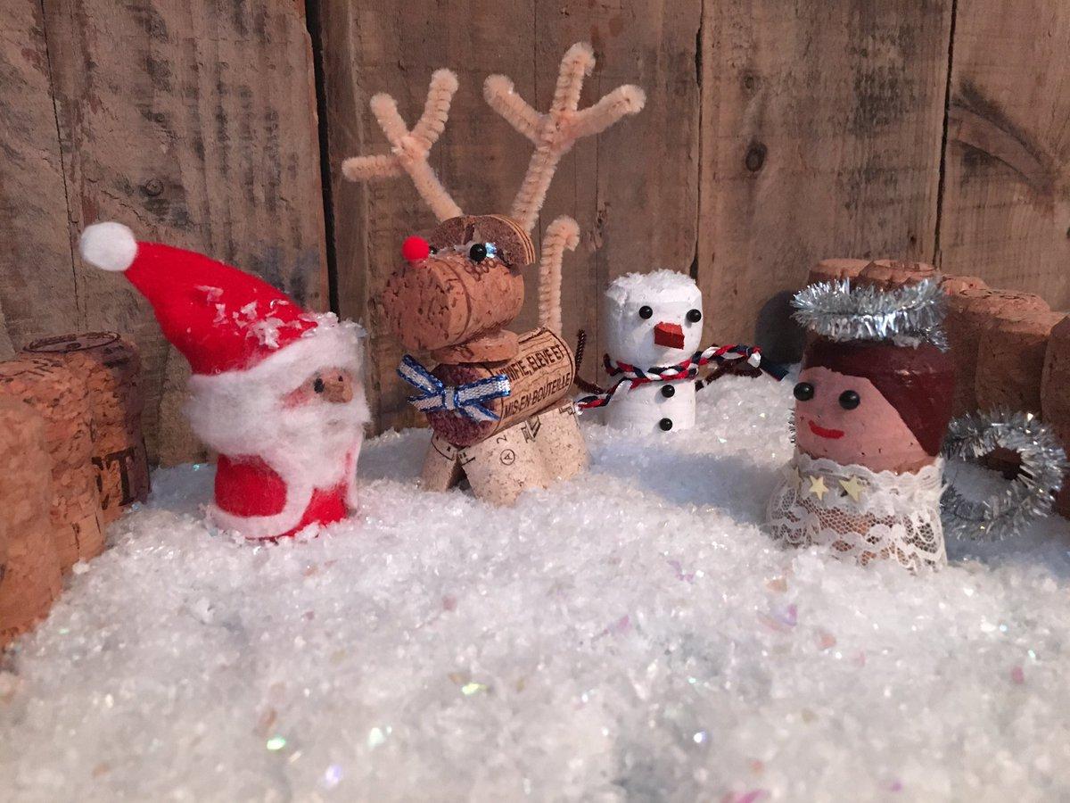 Cork christmas decorations - 0 Replies 0 Retweets 1 Like