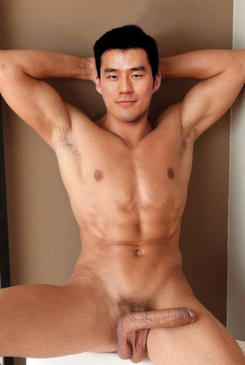 Naked asian hunks