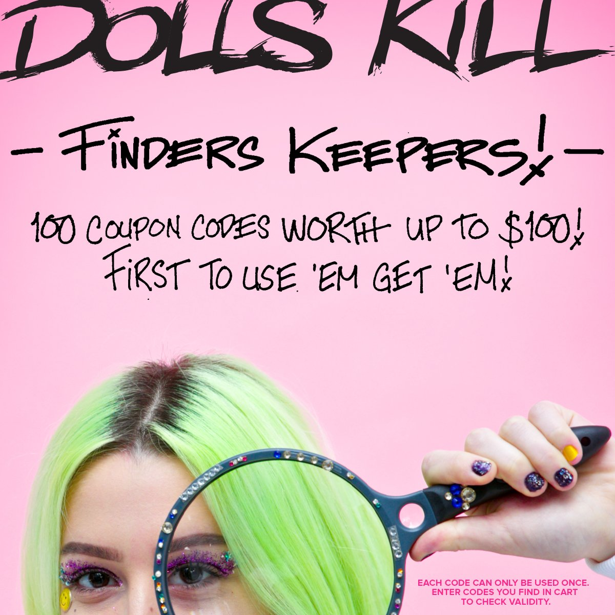 Dollskill coupon code