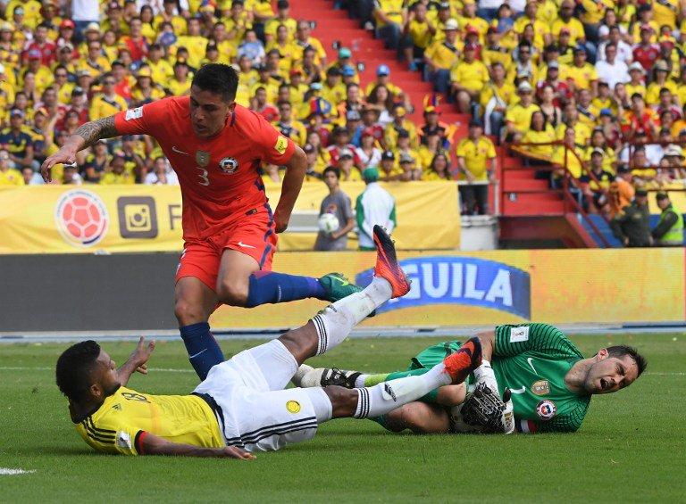 COLOMBIA-CILE Risultato 0-0 Video con le migliori azioni (Qualificazioni Mondiali Russia 2018).
