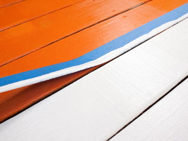 Find out exactly what you need to complete this cool DIY painted rug project!