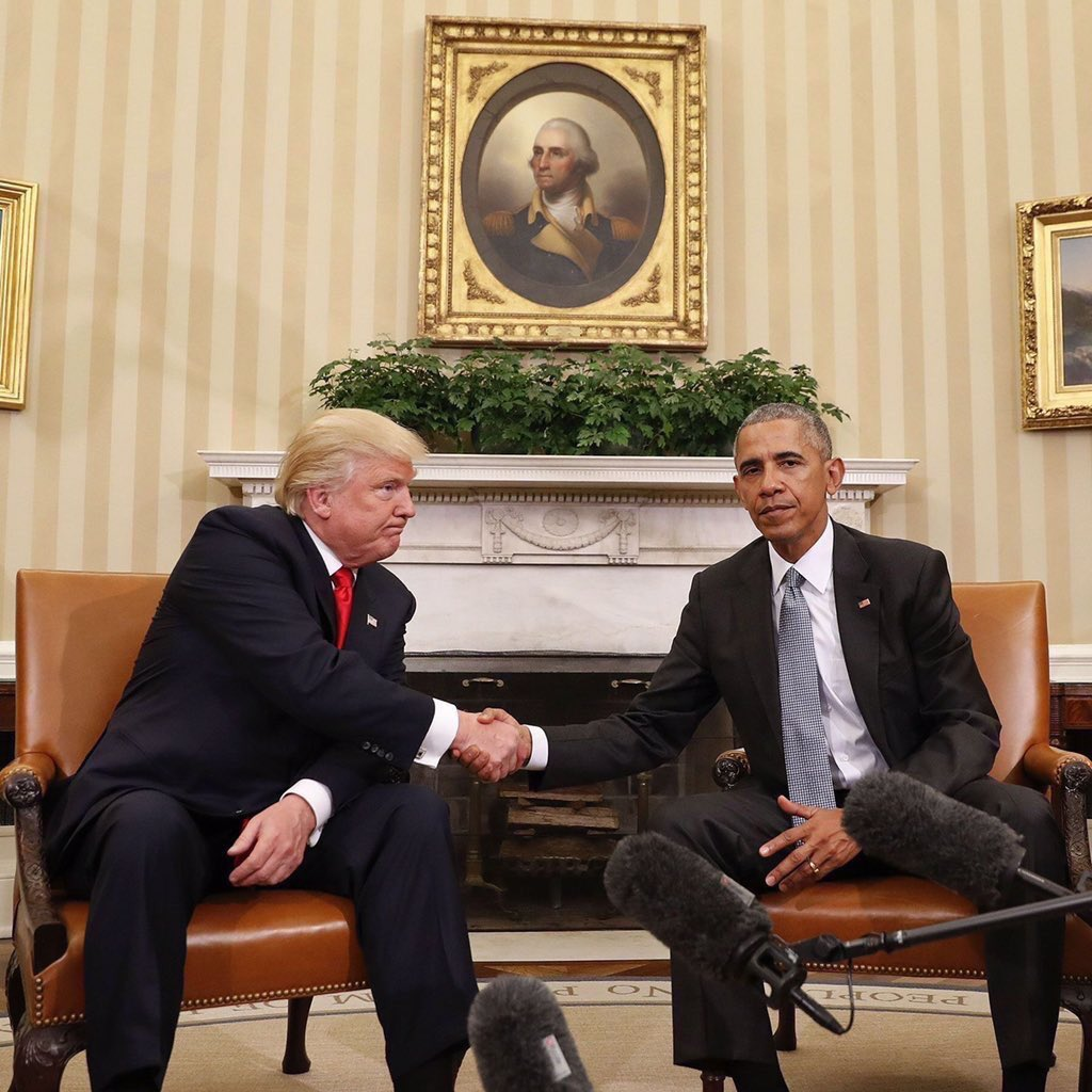 Cw7pWlcUcAALumu trump met obama and the memes just kept coming