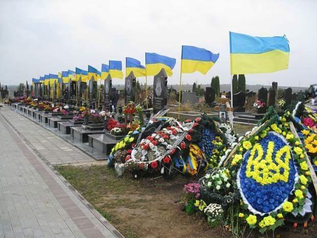 12 неизвестных бойцов, погибших в зоне АТО, похоронили в Днепре - Цензор.НЕТ 2147