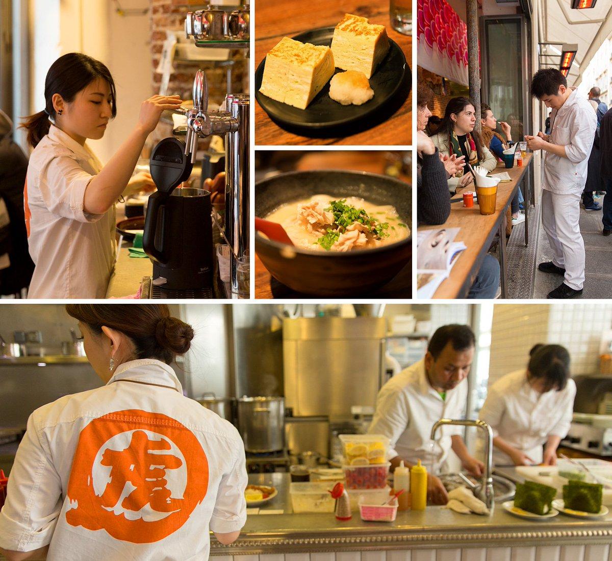パリの街角では今、うどんと日本のユニフォームが注目の的です。生粋のパリっ子にも大人気のうどん店「うどんビストロ国虎屋」 https://www.seven-press.com/voice/428/ #うどん #和食 #ユニフォーム #france #parispic.twitter.com/OZ4MLSx32c