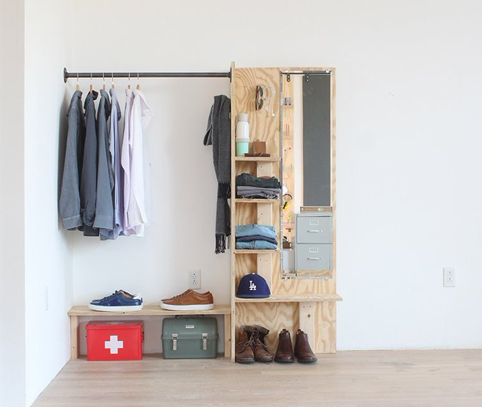 DIY Closet Organizer - The HomeDepot Blog organizedhome realestate