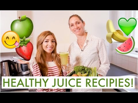 EASY Ways To A Healthier YOU // 2 Juice Recipes! LoveYaAmelia MakeUp Beauty -