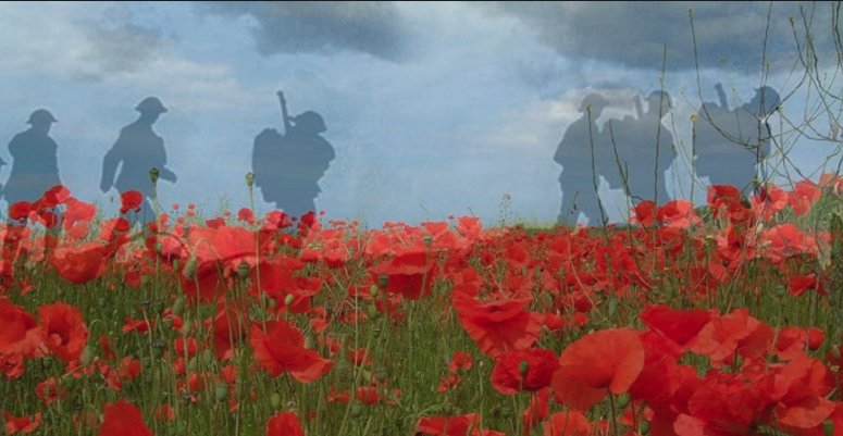 At the going down of the sun, and in the morning, we will remember them. https://t.co/OpLV9gvAZj